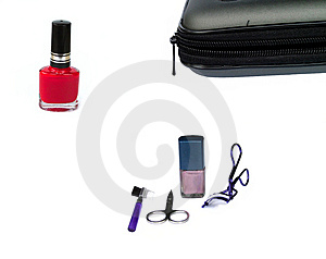 Makeup Bag Free Stock Photography