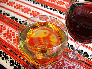 Wine Glasses Free Stock Photo