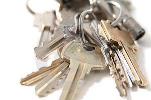 Ключ Стоковая Фотография