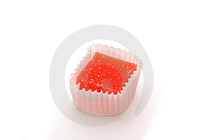 Candy Over White Stock Images