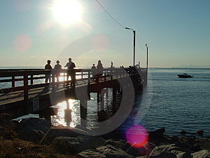 Pier Royalty Free Stock Images