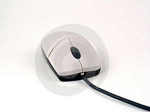 Typical optical mouse Stock Photography