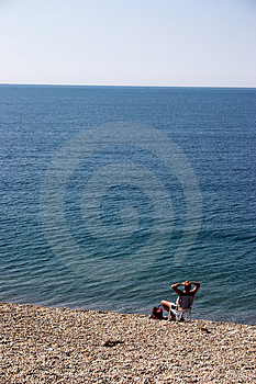 Borta fiske Royaltyfri Bild