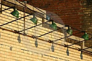 Schaufenster-Beleuchtung Stockfoto