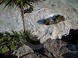 Παραλία Tulum #2 Στοκ Φωτογραφία