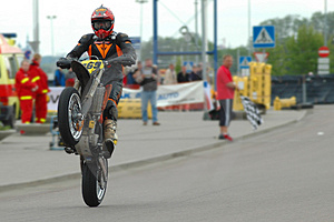 Supermoto 2 Stockbild