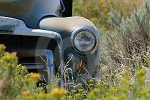 Vintage farm truck Royalty Free Stock Photos