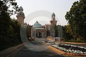 Palace Garden Stock Photography
