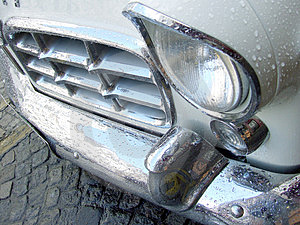 Sweet Old Car Free Stock Image