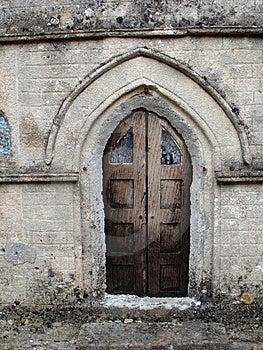 Church Door Free Stock Photo