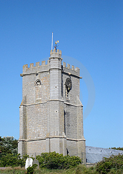 Church Tower Free Stock Photo