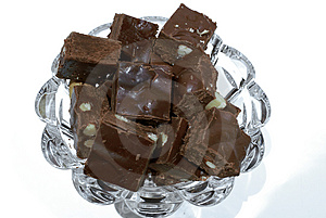 Almond Fudge Royalty Free Stock Photo - Image: 2000825