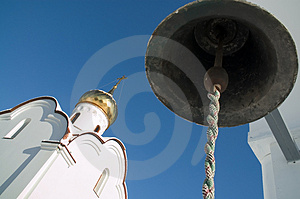 Church And Bell Royalty Free Stock Photos - Image: 2003988