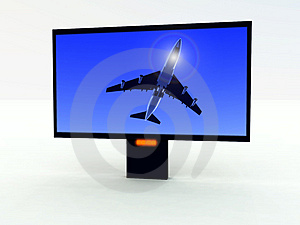 Modern TV 401 Royalty Free Stock Photography - Image: 2009017