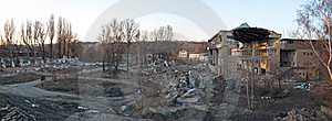 Demolition Royalty Free Stock Photography - Image: 20000237