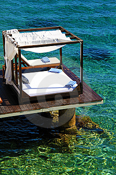 Tropical Luxury Beach Cabana Stock Photography - Image: 20001872