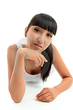 Relaxed Young Woman Stock Photography - Image: 20004072