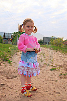 Portrait Of Smiling Girl Stock Photography - Image: 20004222