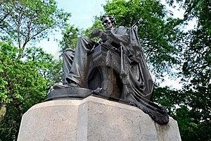 Lincoln In Het Park Van De Toelage Stock Afbeelding - Afbeelding: 20006121