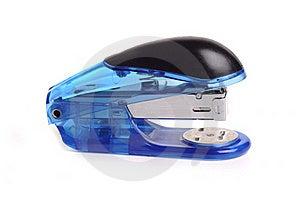 Blue Stapler Stock Image - Image: 20008451