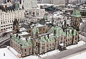 East Block View Royalty Free Stock Photos - Image: 20008888