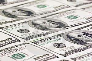 Hundred US Dollars Close Up Stock Images - Image: 20012984