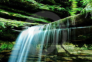 Waterfall Royalty Free Stock Image - Image: 20013146