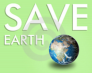 Save The Earth Royalty Free Stock Image - Image: 20015196