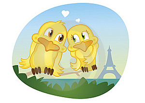 Romantic Summer Love In Paris Near Eifel Tower Royalty Free Stock Photos - Image: 20015308