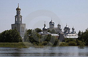 Yuriev Monastery In Novgorod The Great, Russia Royalty Free Stock Photos - Image: 20018528