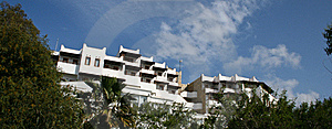 Hotel Building Royalty Free Stock Images - Image: 20018889