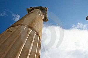Temple D'Ephesus Images libres de droits - Image: 20018939