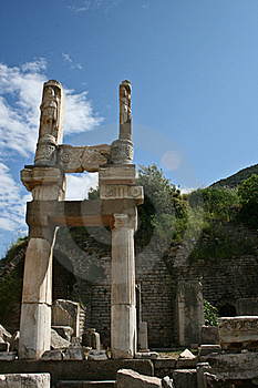 Temple Of Ephesus Stock Images - Image: 20018984
