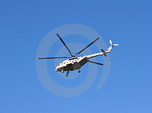 Helicopter In The Air Stock Photography - Image: 20019342