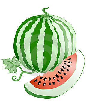 Watermelon. Stock Image - Image: 20020571