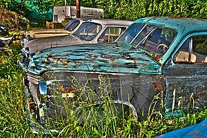 Abandoned Cars Stock Photos - Image: 20020693