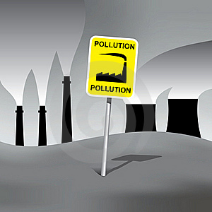 Pollution Sign Stock Photos - Image: 20024433