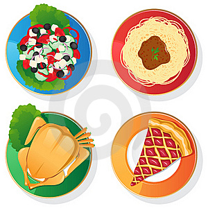 Delicious Food Royalty Free Stock Image - Image: 20025766