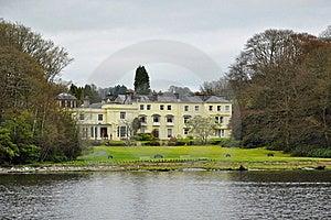 银行英国消耗大的家庭湖样式 库存照片 - 图片: 20028780