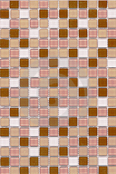 Pink Coffee Mosaic Royalty Free Stock Images - Image: 20028809