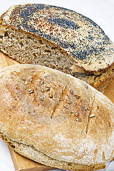 Homemade Breads Royalty Free Stock Images - Image: 20029579