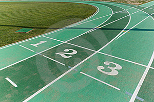 Athletics Track Royalty Free Stock Images - Image: 20030199