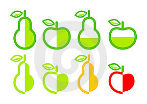Collection Of Fruits Royalty Free Stock Photography - Image: 20031737