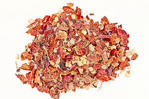 Pile Of Hot Red Chilli Chillies Pepper Stock Photo - Image: 20032270