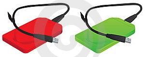 External Hard Drive USB3.0 Royalty Free Stock Photos - Image: 20034718