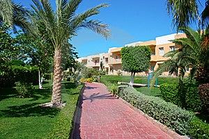 Egyptian Resort Stock Photography - Image: 20036262