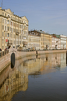 Channel At St Petersburg Stock Images - Image: 20039734