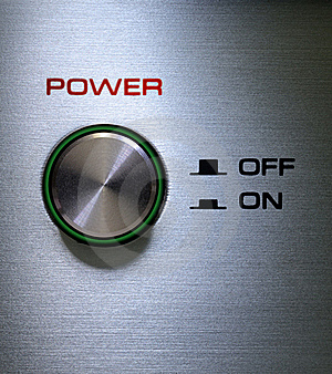 Power Button On-Off Royalty Free Stock Photography - Image: 20045317