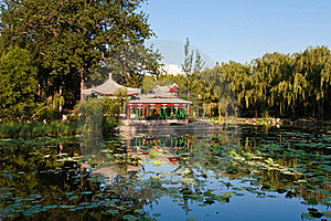 Chinese Garden Stock Photography - Image: 20048862
