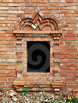 Vintage Window In Ancient Monastery Royalty Free Stock Image - Image: 20050636